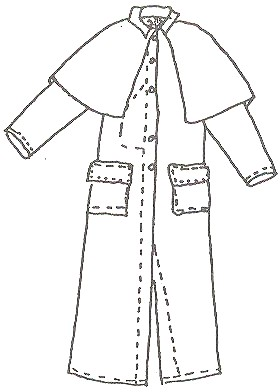 mens overcoat pattern